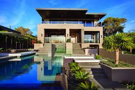 Contemporary Home In Melbourne With Resort Style Modern ... Stunning Home With Two Pavilions Linked By A Central Courtyard Modern Luxury House Sophisticate Exterior House Interior Sustainable Design Architects Extraordinary Unique Luxury Plans Contemporary Best Idea Building Specialists Cambuild Beach With Cantilevered Pool 006 City 4d Designs Beautiful Floor Australia Modern Gallecategory And Beachfront