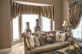 Dining Room Drapes New Draperies Ideas Curtain Adorable Curtains Bay Window