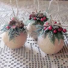 Natural Rustic Christmas Decorations