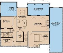 Sims 3 Big House Floor Plans by European Style House Plan 4 Beds 3 5 Baths 4035 Sq Ft Plan 923