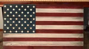 Luxury Inspiration American Flag Wall Hanging Plus Rustic Wood For Indoor Or Outdoor Use Large Hangings Fabric