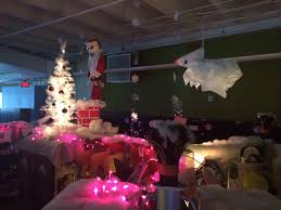 Nightmare Before Christmas Halloween Decorations Ideas by Cubicles