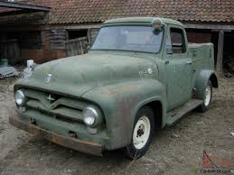 1955 FORD F100 STEPSIDE PICKUP SERVICE TRUCK RESTORATION PROJECT