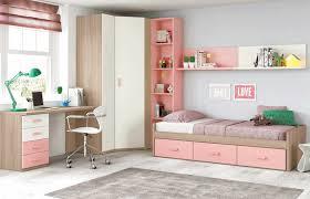 chambre pour ados chambre ado fille douce et avec lit 3 coffres glicerio so nuit