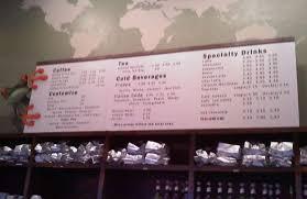 Redeye Coffee Menu For Tallahassee