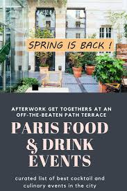 100 The Kube Hotel Paris Afterwork Aperitifs At Food Drink Events