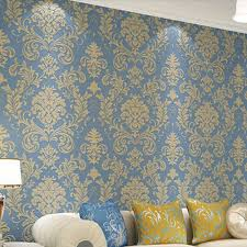 damask wallpaper wall paper roll wallcovering europe vintage home