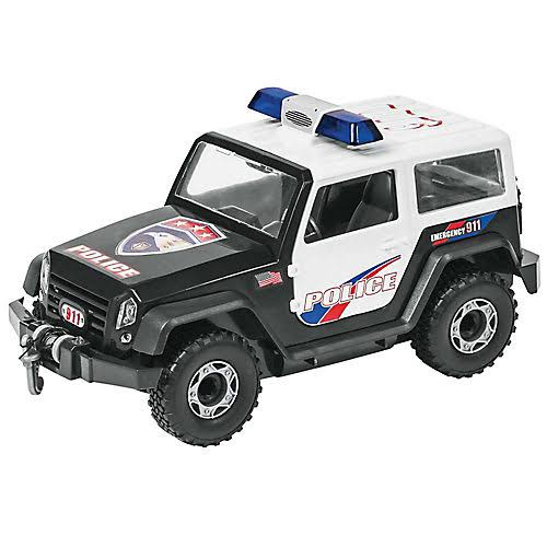 Revell 451010 Police Off Road Vehicle Miniature - Scale 1:20