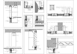 Dwg House Plans Free Best Of Glass Wall Floor Plan Autocad Construction Details