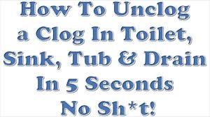 Bathtub Drain Clog Baking Soda Vinegar by Designs Terrific Cool Bathtub 98 Unclog A Sink Modern Bathtub