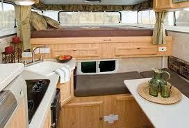 Pop Up Camper Interior