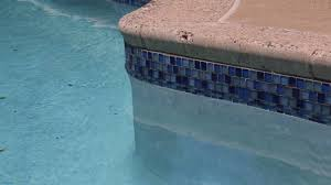 Waterline Pool Tile Designs by Swimming Pool Blue Glass Tile Installation Blue Bell Pa Youtube