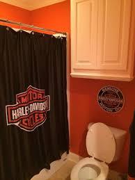 Harley Davidson Bathroom Themes by Harley Davidson 3 Piece Towel Bath Set Retro Bike Dye Harley