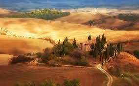 Traditional Villa In Tuscany Famous Vineyard Italy