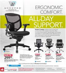 Workpro Commercial Mesh Back Executive Chair Black by Office Depot Office Max Weekly Ad Preview 7 23 17