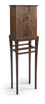 Krenov Inspired Walnut Cabinet On Stand