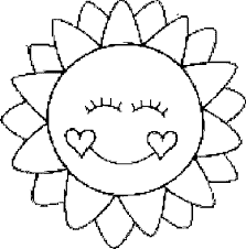 Awesome Sun Coloring Pages Perfect Page Ideas