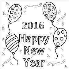 Free Happy New Year 2014 Coloring Pages Printable For Kids