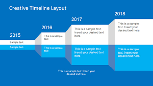 Floor Plan Template Powerpoint by Creative Timeline Layout For Powerpoint Slidemodel