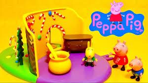 peppa pig maison en d épices et bonbons conte de fées hansel