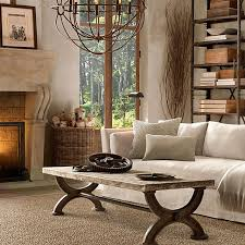 Rustic Living Room Furniture Country Decorating Ideas Style