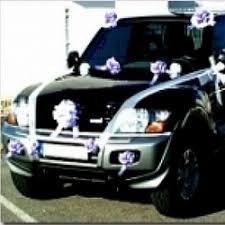 décoration voiture mariage article pas cher pour déco kit deco