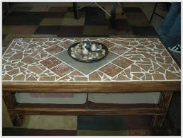 mosaic tile coffee table diy tiles home decorating ideas