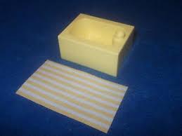 lego duplo 1 x dusche gelb bad le laterne puppenhaus