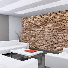 fototapete stein steinoptik steine mauer steintapete liwwing