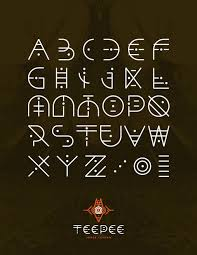Different Fonts For Posters Luneva Ive Never Repinned A Type Font But I Think This Is