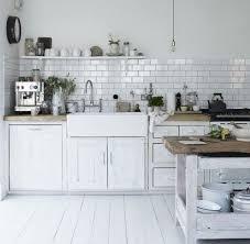 cuisine blanc et bois stunning deco cuisine blanc et bois images design trends 2017
