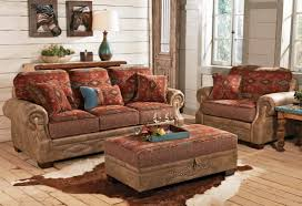 Western Leather Furniture Wholesale Rustic Living Room Southwestern Style Sectional Sofas