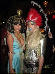 Halloween Heidi Klum 2010 by Paris Hilton U2013 Playboy Mansion Halloween Party In Los Angeles