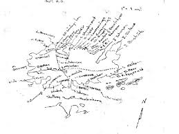 Grindstone Island 1864 Map