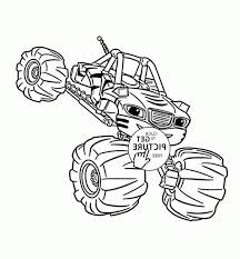 100 Monster Truck Drawing Bulldozer Coloring Pages Awesome Blaze Hand