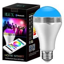 Bluetooth Smart LED Light Bulb with Speaker