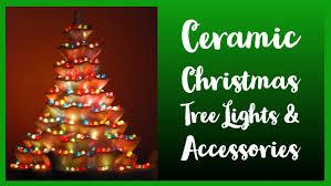 Ceramic Christmas Tree Lights