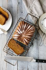 Nordic Ware Pumpkin Loaf Pan by Paleo Pumpkin Bread Downshiftology