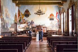 alex james romantic santa barbara courthouse elopement four