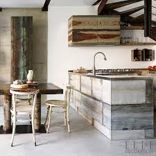 The Cabinets In This Kitchen A Milan Apartment Are Made From Reclaimed Galvanised