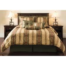 Family Dollar Curtain Rods by Mainstays Dakota 7 Piece Comforter Set Walmart Com
