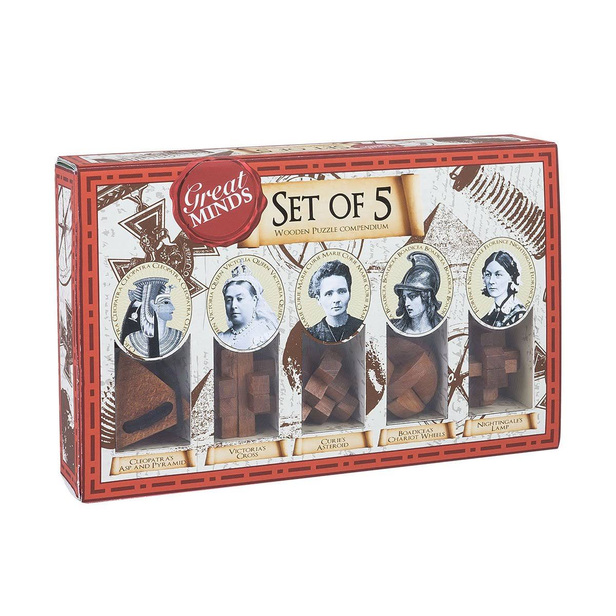 Great Minds Womens Set of 5
