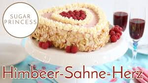 leckere himbeer sahne torte leicht und luftig muttertag valentinstag rezept sugarprincess