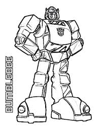 Free Printable Transformers Coloring Pages Online Transformer Vintage Bumblebee Sheets