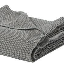 plaid gris canapé plaid canape grande taille jetac de canapac couvre lit 100 coton