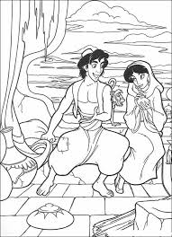 27 Best Disney Aladdin Coloring Pages Images On Pinterest