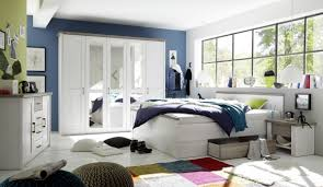 schlafzimmer komplett set 5 tlg luca bett 180 schubkasten kleiderschrank 241 cm nachtkommoden kommode pinie weiß trüffel braun