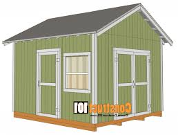 8x10 Shed Plans Materials List by 100 12x12 Shed Plans Diy Garage Shed Plans Buy Diy Detached