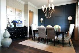 Dining Room Accent Walls Painting Rooms With Commanding A Presence Dark That
