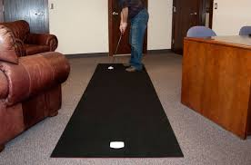 Golf Deluxe 11ft x 3ft Practice Putting Mats